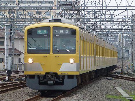 西武新宿線 準急 本川越行き 新101系(引退)