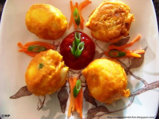 stuffed Egg Bonda recipe