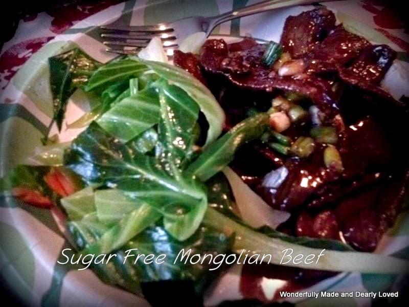 Sugar Free Mongolian Beef
