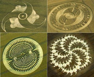 4 Mayans crop circles