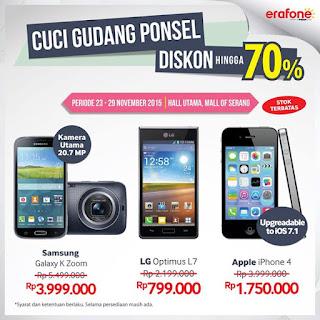 Erafone Cuci Gudang iPhone 4 Rp 1.750.000