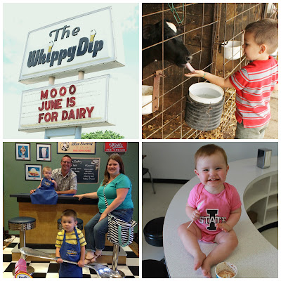 2014 Iowa Ice Cream Road Trip - The Whippy Dip, Decorah, Hansen's Dairy, Hudson, Blue Bunny, LeMars, Birdsall's, Mason City
