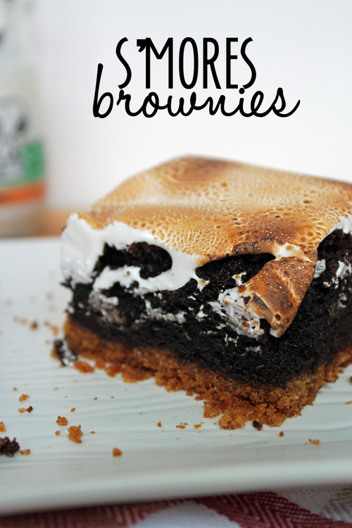 http://www.unusuallylovely.com/home/recipe-smores-brownies