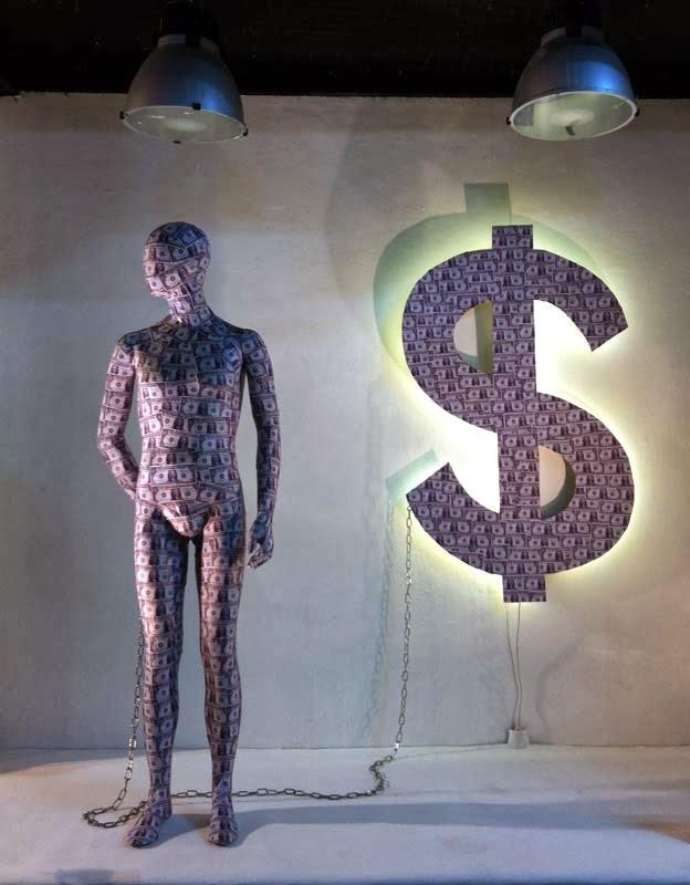 Artidi, escaparates de gran formato, artistas, Justine Smith