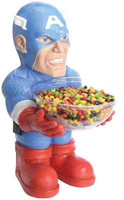 Captain America Candy Bowl Halloween