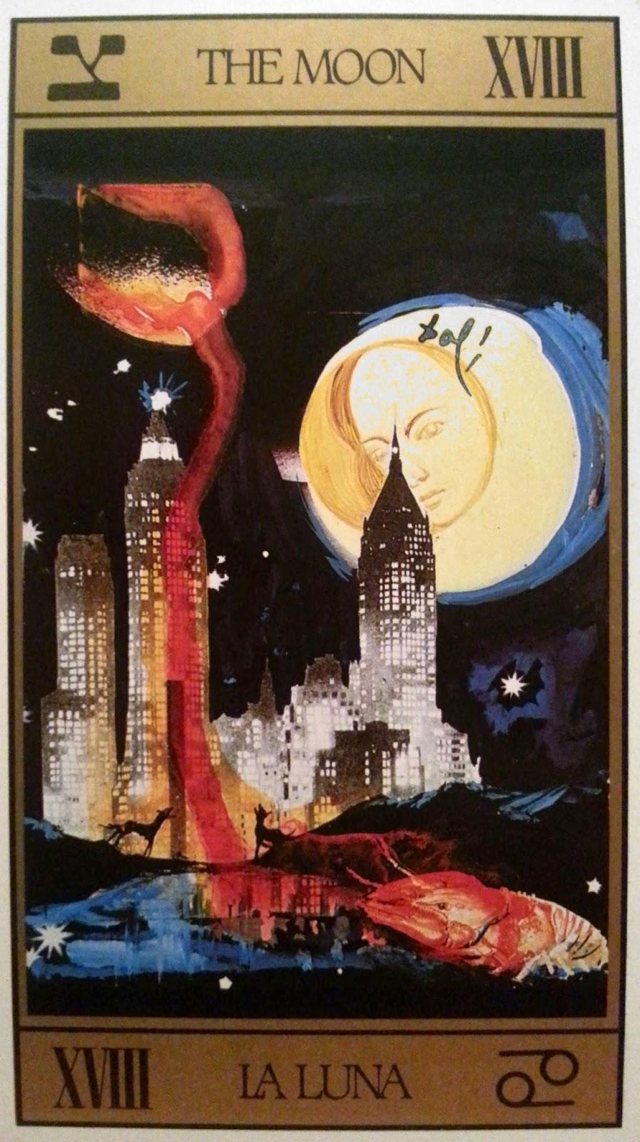 La Luna en el Tarot