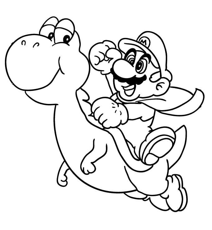 super mario coloring pages online for kids mario coloring pages title=