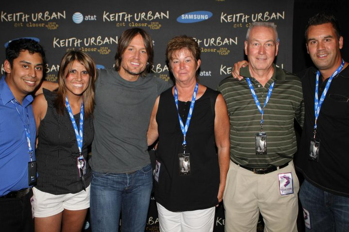 Accsell inc accsell inc executives get a great birthday present accsell inc executives get a great birthday present with a meet and greet with keith urban m4hsunfo