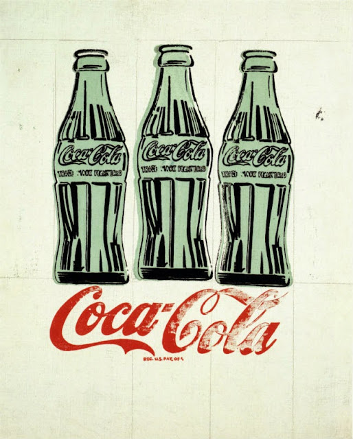 Coke Bottle 100, Coca Cola, 100 aniversario botella Coca Cola, Andy Warhol