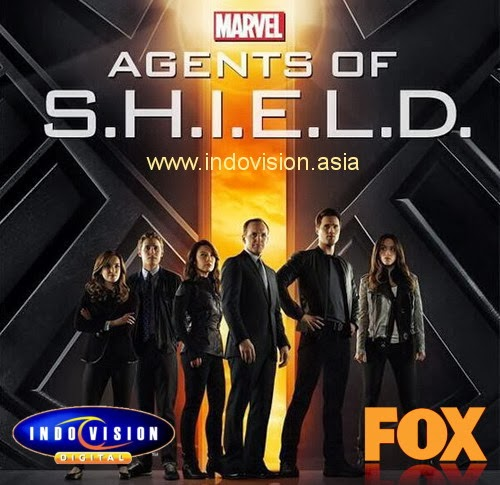 Jadwal tayang serial Agents of S.H.I.E.L.D. di Fox channel melalui Indovision.