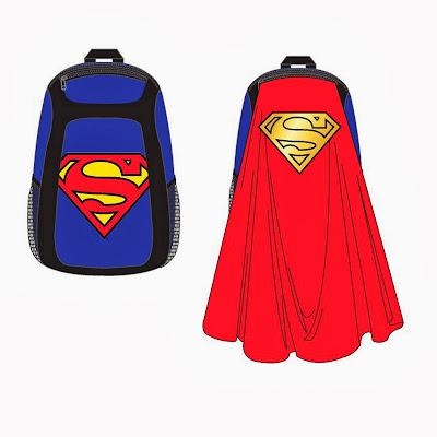 Mochila Superman con Capa