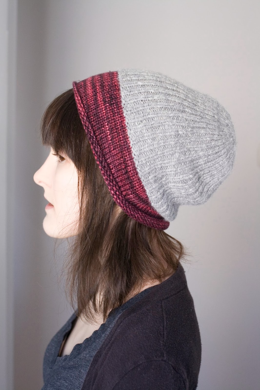 Dull Roar: Twinkletête hat knitting pattern by Alex Tinsley