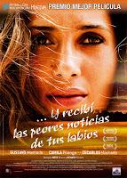 Cartel de la película 'Y recibí las peores noticias de tus labios', de Beto Brant y Renato Ciasca, con Gustavo Machado y Zé Carlos Machado. Making Of. Cine