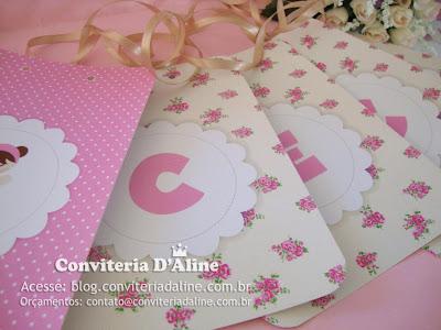 bandeirolas decoração bonecas provençal