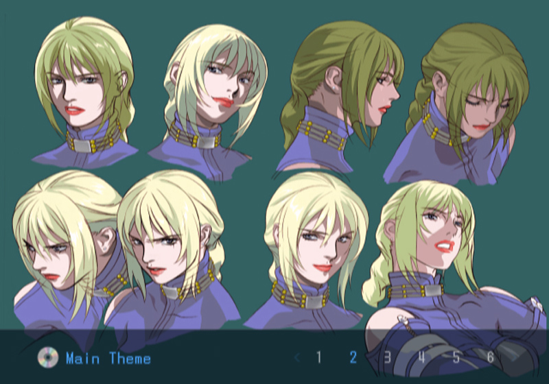 Death by Degrees Nina Williams Concept Sketches