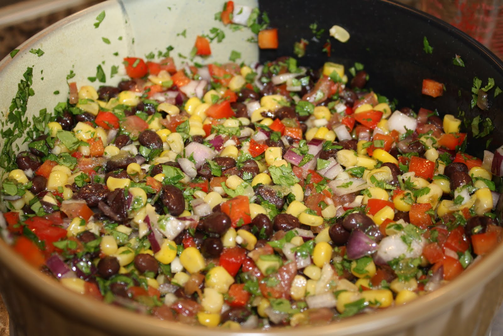 caviar cowboy caviar chopped salad texas caviar with avocado recipe ...