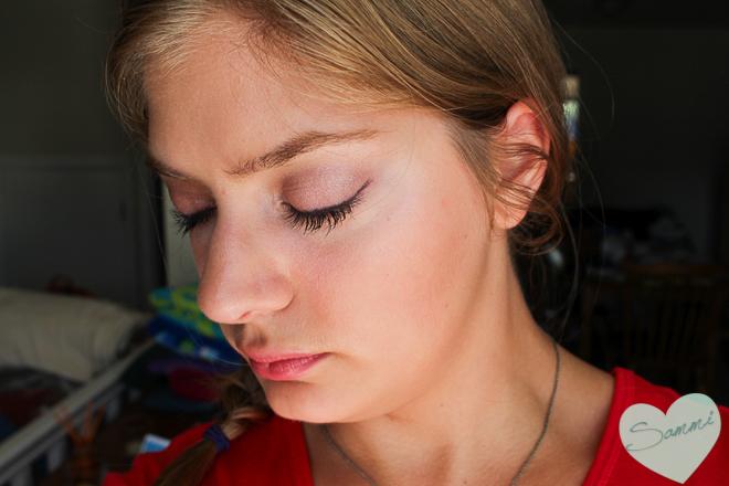 sammi the beauty buff greek goddess makeup challenge