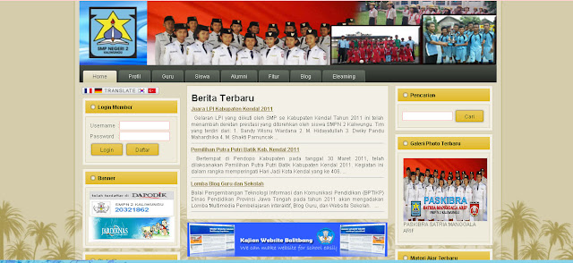 contoh website balitbang