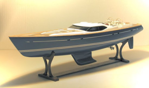 Oyster 82 model - how fast can a sailboat look?