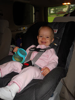 third time 39 s a charm 13 months and a big girl car seat. Black Bedroom Furniture Sets. Home Design Ideas