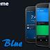 Neon Blue - CM12 Theme v1.6.7 Apk