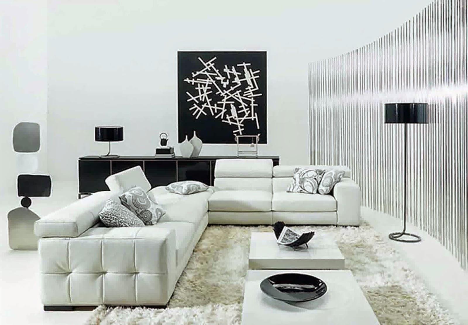 Model Interior Ruang Tamu Minimalis 2014