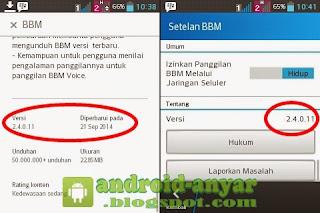 Free download / update official BBM for Android v. 2.4.0.11.apk full installer offline
