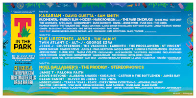 T in the Park festival 2015