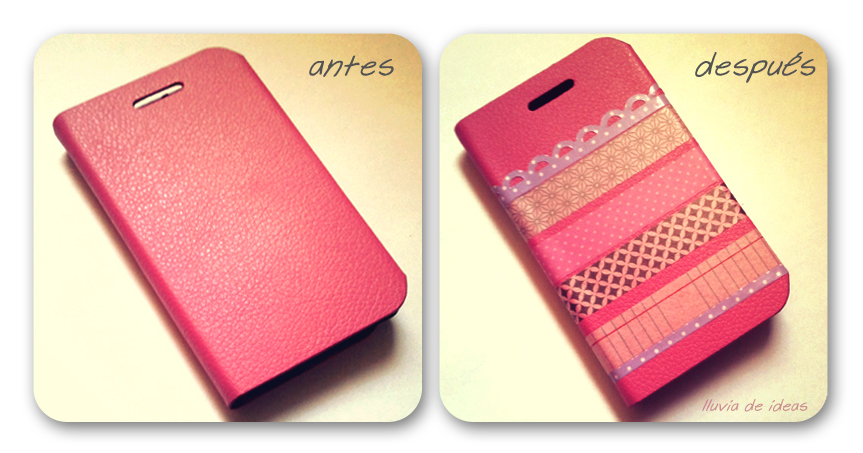 Lluvia de ideas diy personaliza tu funda de movil - Como decorar una funda de movil ...