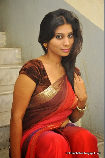heroins saree wearing stills