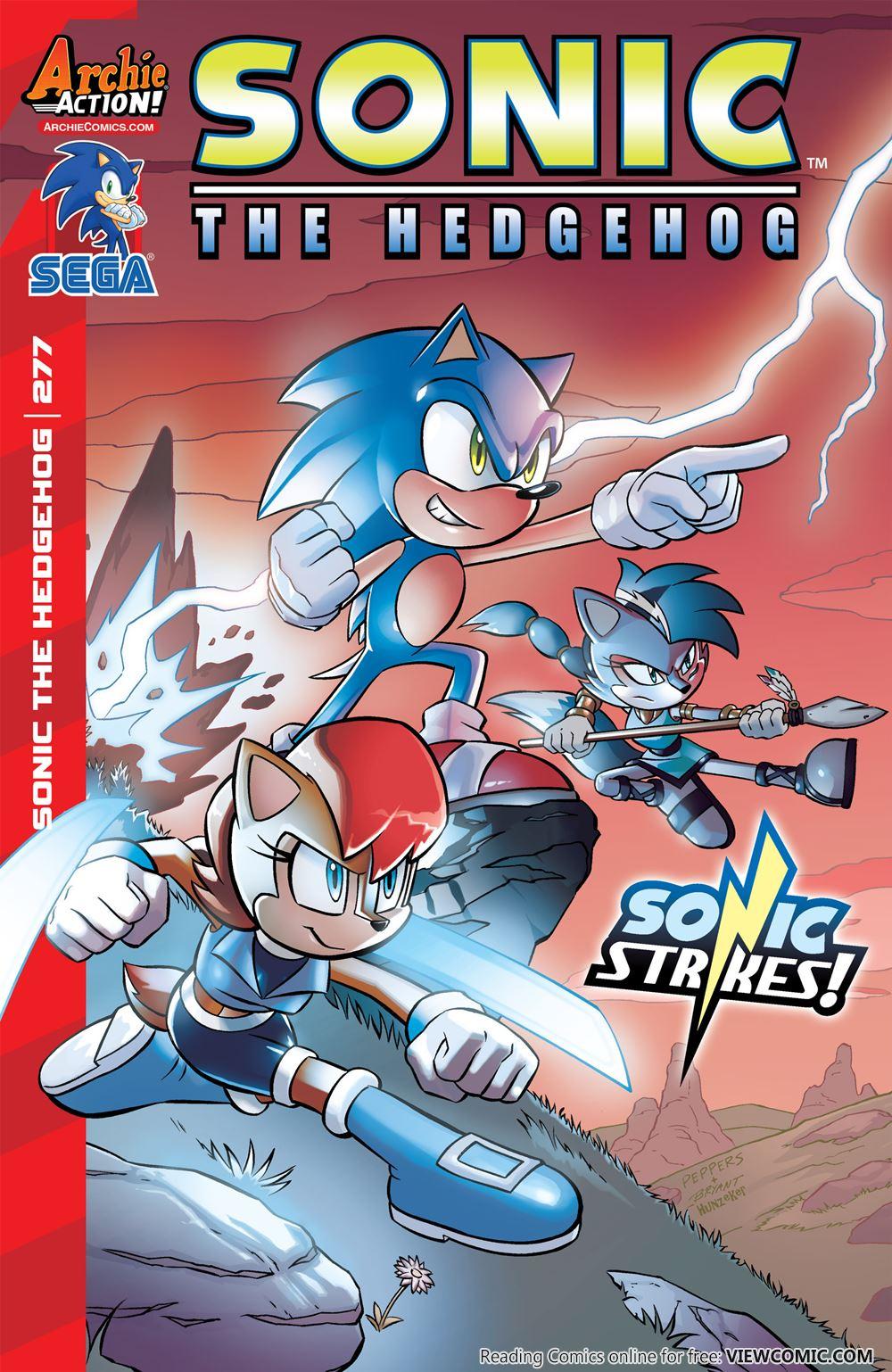 sonic the hedgehog 277 2015 viewcomic reading comics