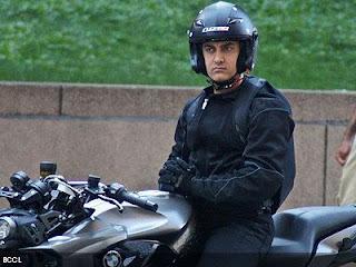 New look of Aamir Khan in Dhoom 3