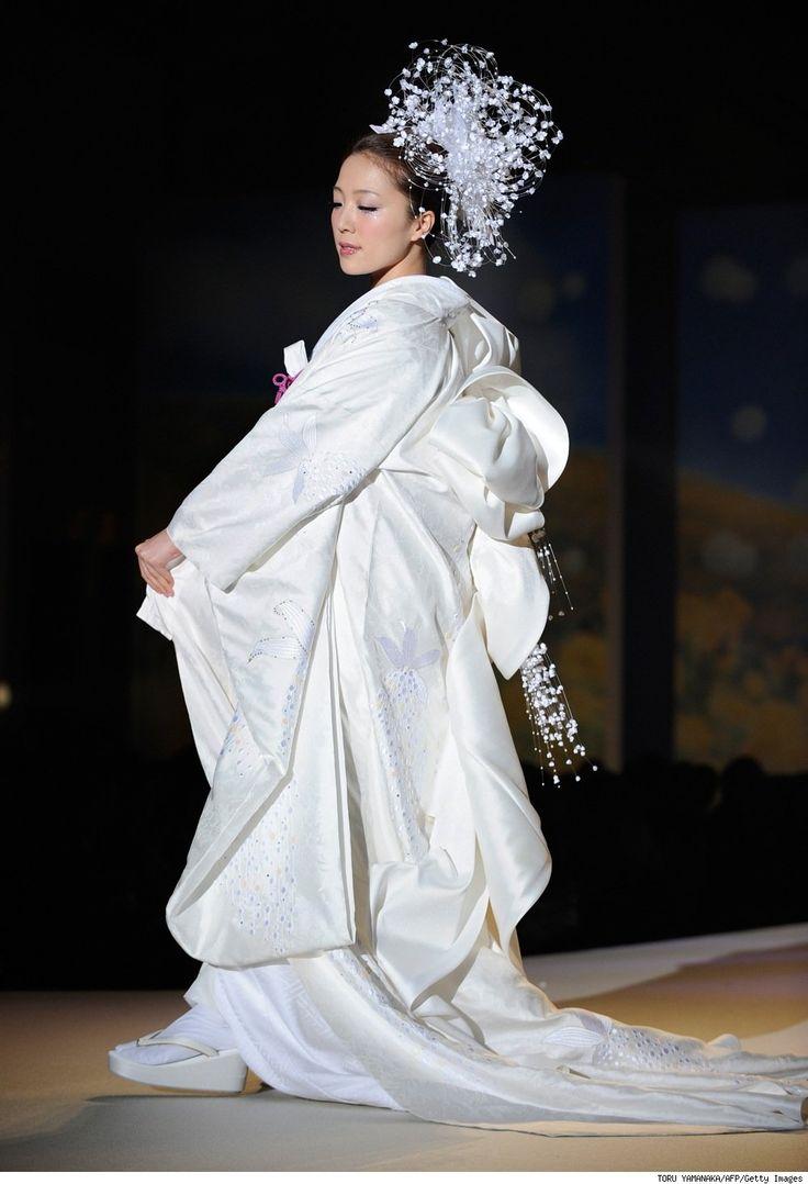 wedding dresses cold climates: Japanese Wedding Dresses