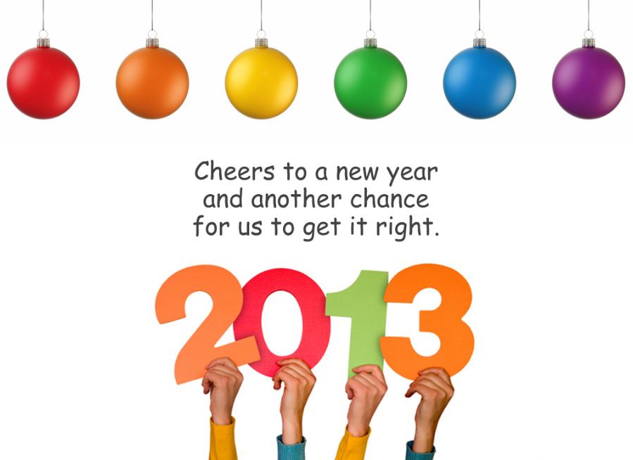 صور راس السنة الميلادية 2013 ، خلفيات الاحتفال بعام 2013