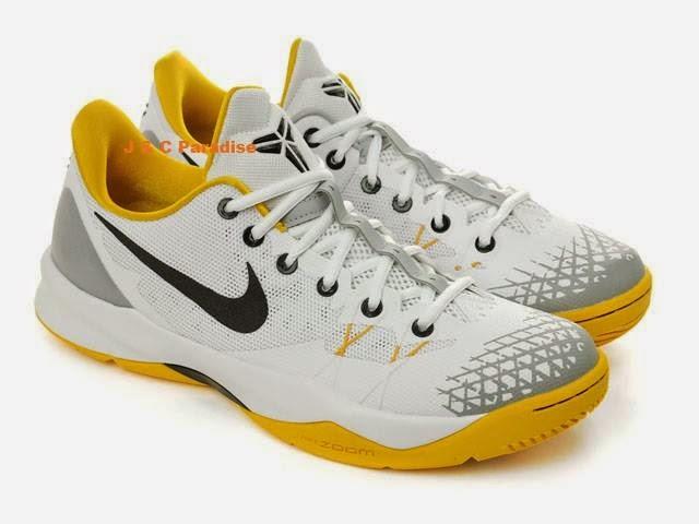 Nike Zoom Kobe Venomenon 4 IV XDR White Black Unversity Gold Grey Nike Kobe Bryant Factory Outlets