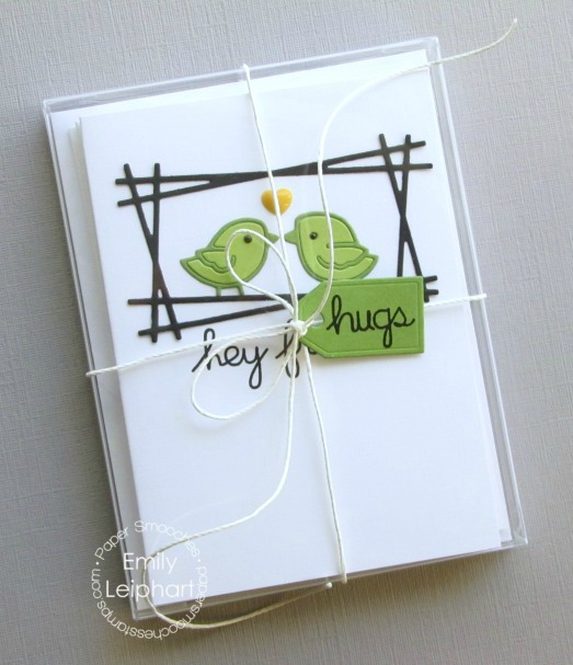 Oh I Heart This So Much Esp How Everything Centres: Art♥from♥the♥Heart: {Paper Smooches} Delightful Birds Card Set