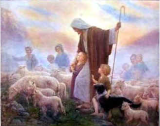 Jesus the Good Shepherd - Artist unknown