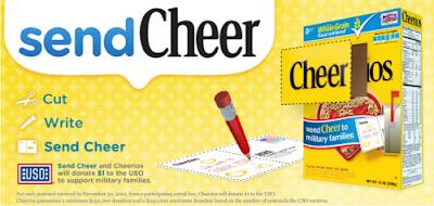 Cheerios sendCheer