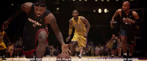 NBA 2K14's Soundtrack Chosen By LeBron James