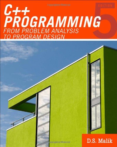 From Problem Analysis To Program Design Th Edition Pdf