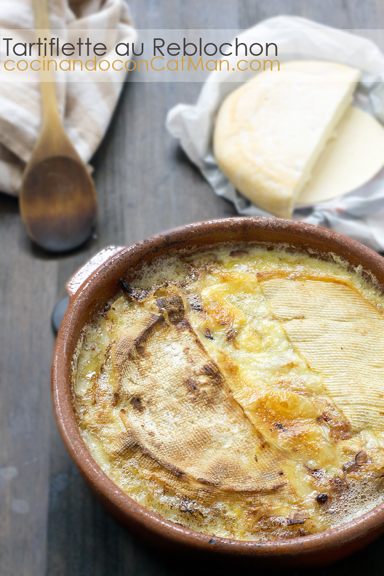 receta de tartiflette
