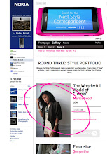 Featured: Elle/Nokia Next Style Correspondant Contest (Top 50 Semi-Finalist)