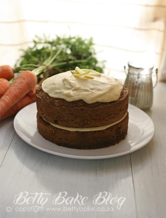 Carrot cake recipe moist south africa
