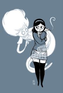 Anya's Ghost panel