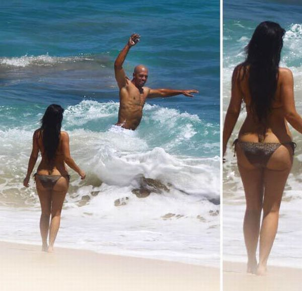 Kim Kardashian sweet ass