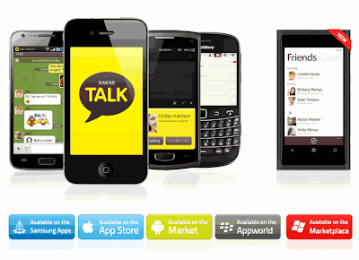 Download Aplikasi Free Talk KakaoTalk Untuk Android Apple Blackberry Windows Mobile PC Gratis