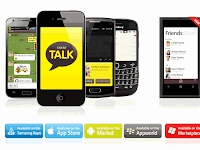Download Aplikasi Free Talk KakaoTalk Android Apple Blackberry Windows Mobile PC Gratis