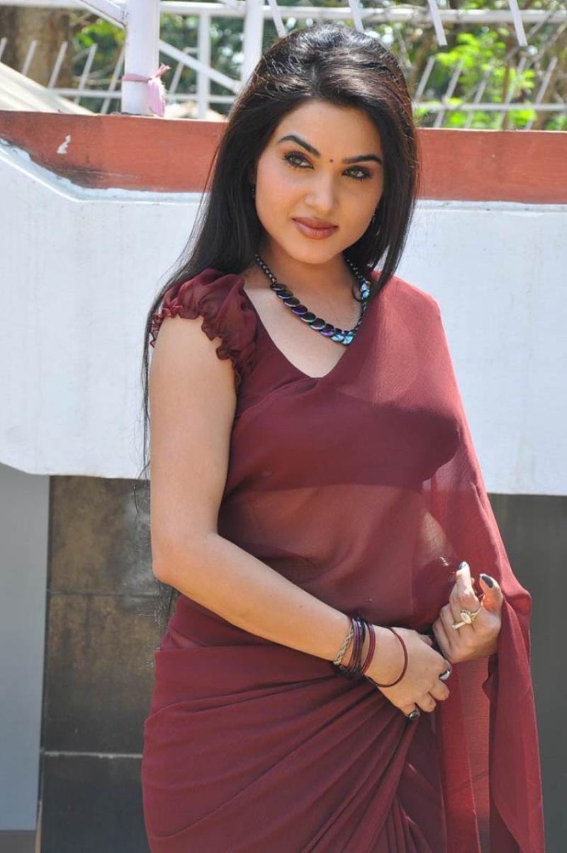 actress tollywood gallery : kavya singh hot saree stills