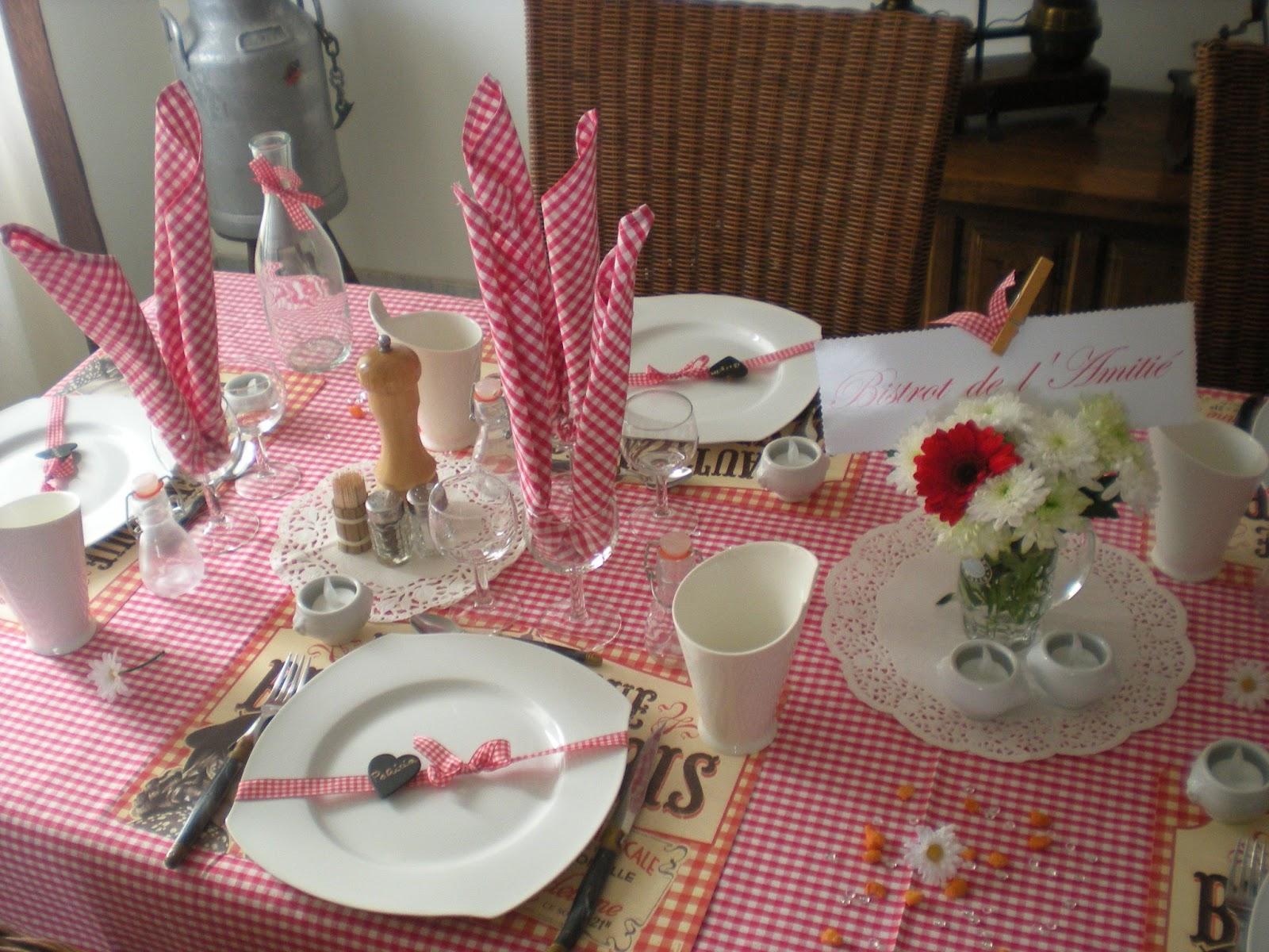 D co bistrot d co de table th mes for Deco de cuisine bistrot