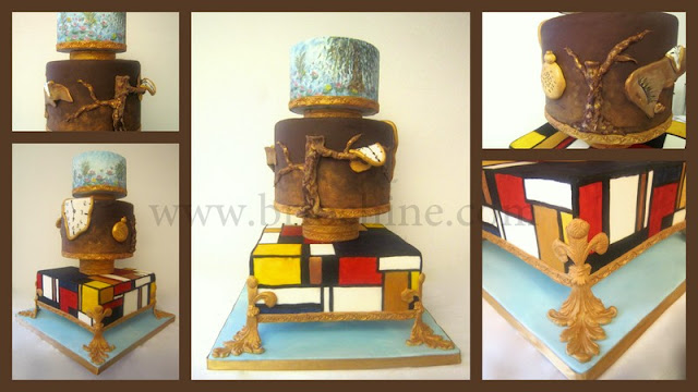 Briochine cake design